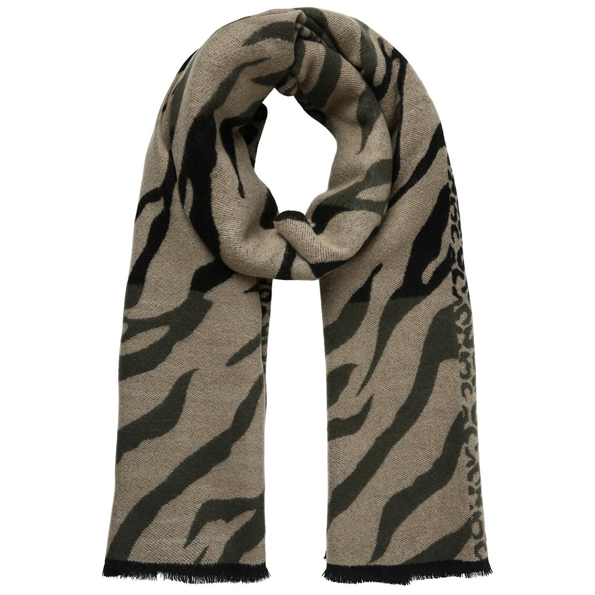 pcingrid long scarf 17099667 pieces sjaal tannin