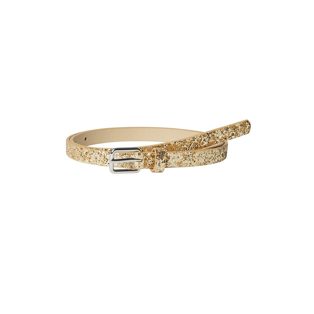 pcjadis jeans belt 17100300 pieces riem gold colour