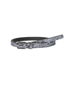 pcjadis jeans belt 17100300 pieces riem gunmetal