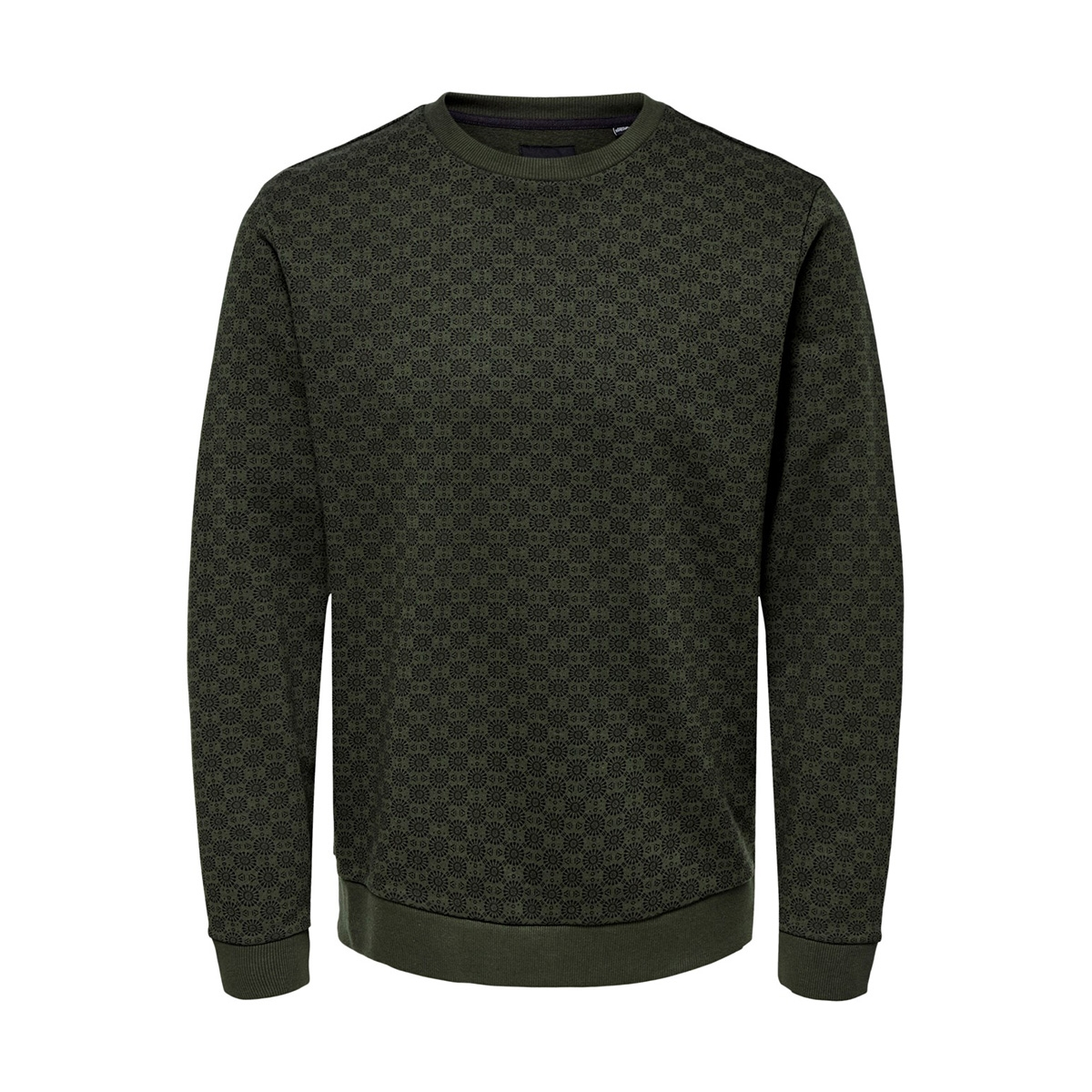 onstitson crew neck 22014773 only & sons sweater forest night