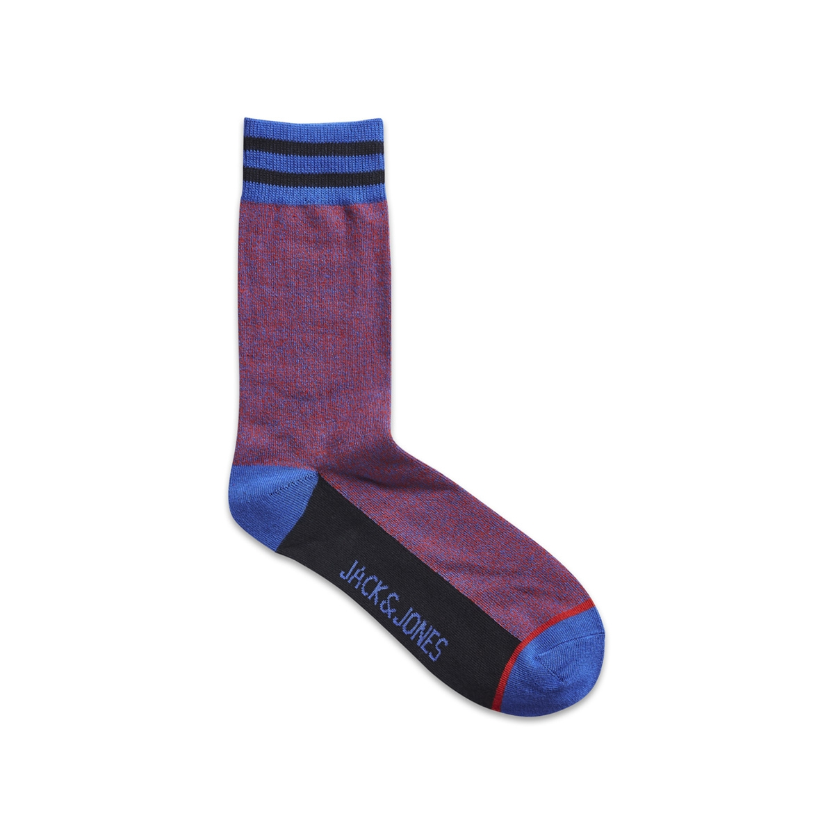 jacblend socks 12161819 jack & jones accessoire fiery red