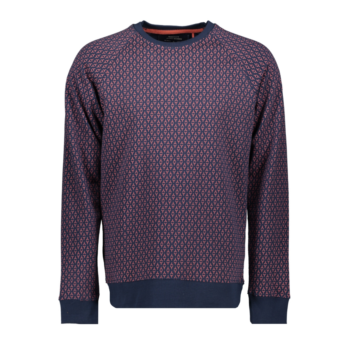 onsfree raglan crew aop 3741 22013741 only & sons sweater dress blues