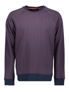 Only & Sons sweater onsFREE RAGLAN CREW AOP 3741 22013741 Dress Blues