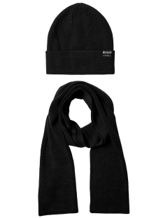 Jack & Jones Sjaal JACJOLLY KNIT GIFTBOX 12163827 Black