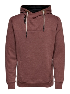onsmklaus sweat 22014918 only & sons sweater madder brown