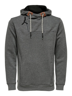 Only & Sons sweater ONSMKLAUS SWEAT 22014918 Dark Grey Melange