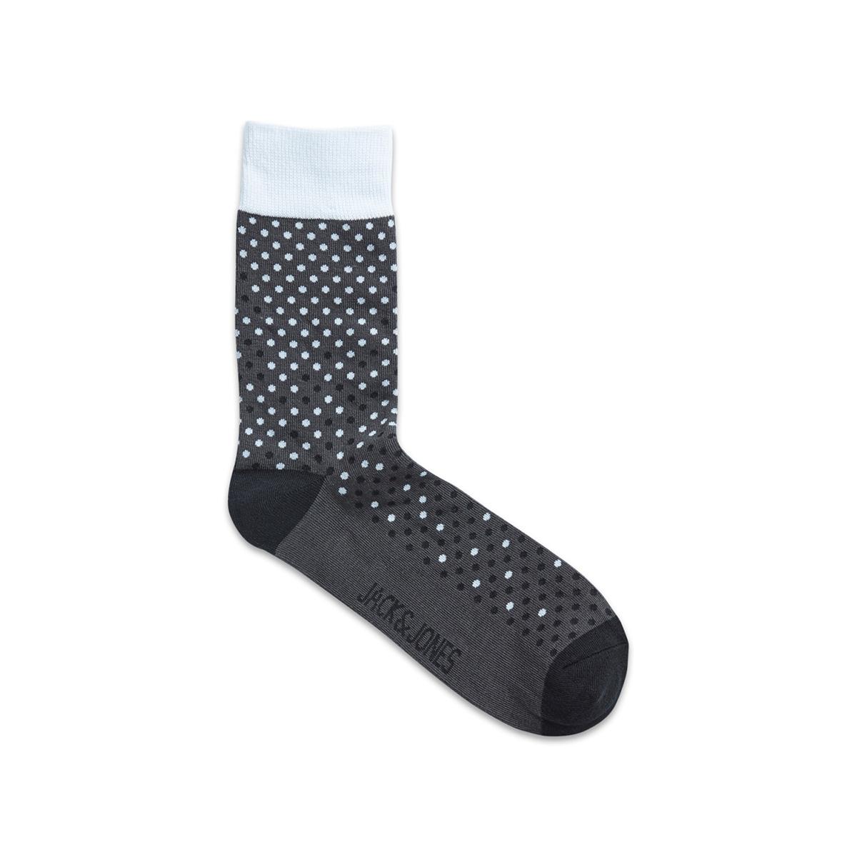 jacgradiant dots socks 12162176 jack & jones accessoire raven