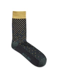 jacgradiant dots socks 12162176 jack & jones accessoire harvest gold