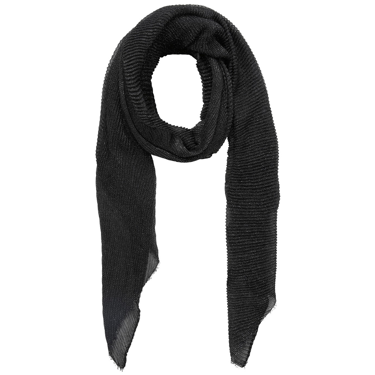 pcjamina long scarf 17100491 pieces sjaal black