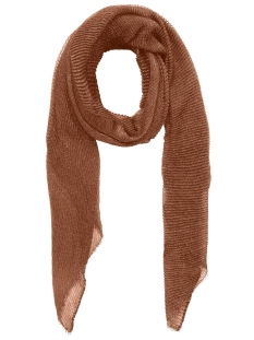 Pieces Sjaal PCJAMINA LONG SCARF 17100491 Mocha Bisque