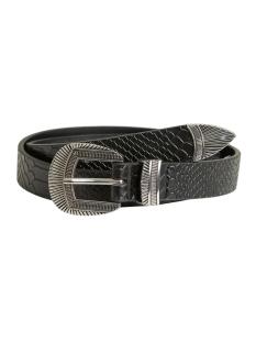objivy pu belt noos 23027870 object riem black