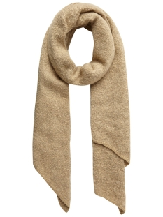 Pieces Sjaal PCPYRON LONG SCARF NOOS 17076047 White Pepper