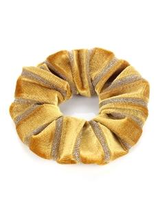 je11477 scrunchie touch accessoire yellow/glitter