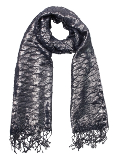 Touch Sjaal SH7997 GLITTER SCARF NAVY