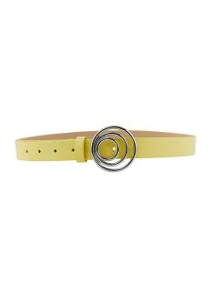 pcneema jeans belt 17103114 pieces riem lemon drop