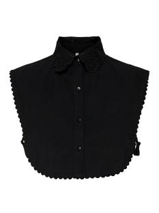 Only Accessoire ONLSHILA COTTON EMB. COLLAR 15199982 Black
