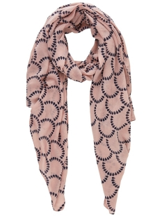 Pieces Sjaal PCNAVONJA LONG SCARF BOX 17103484 Misty Rose/PATTERM