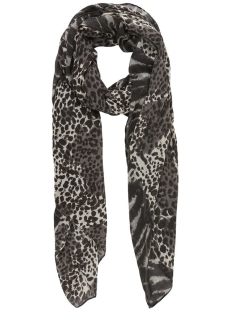pcnoell long scarf 17102128 pieces sjaal black