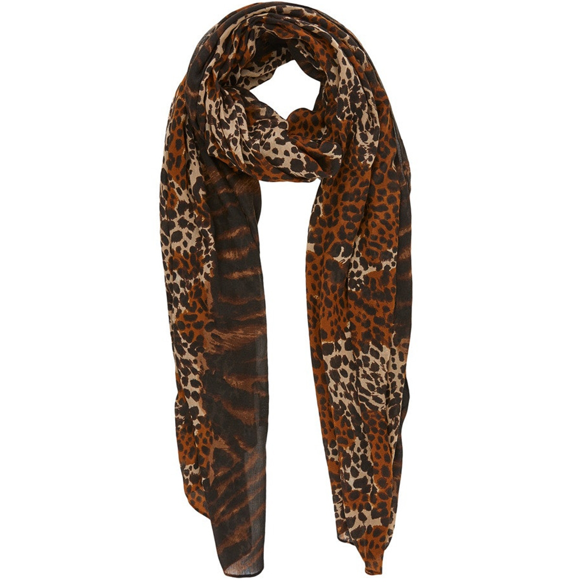 pcnoell long scarf 17102128 pieces sjaal honey mustard