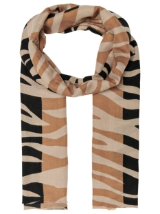 Only Sjaal ONLJUNGLE TIGER SCARF 15198852 Black/TIGER