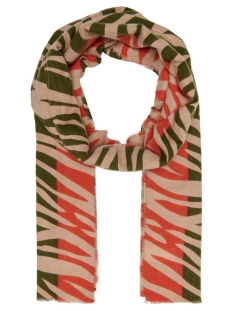 Only Sjaal ONLJUNGLE TIGER SCARF 15198852 Rifle Green/TIGER