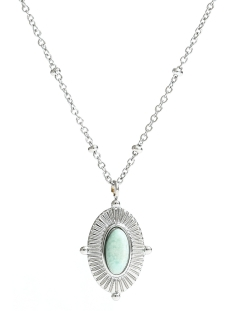 Touch Sieraad NECKLACE JE11284 MINT/SILVER