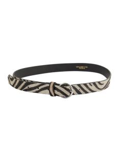 pcabbie leather jeans belt if 17104039 pieces riem black