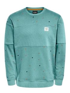 Only & Sons sweater ONSDEXTER REG CREW NECK SWEAT 22015400 Aquifer