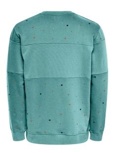 onsdexter reg crew neck sweat 22015400 only & sons sweater aquifer