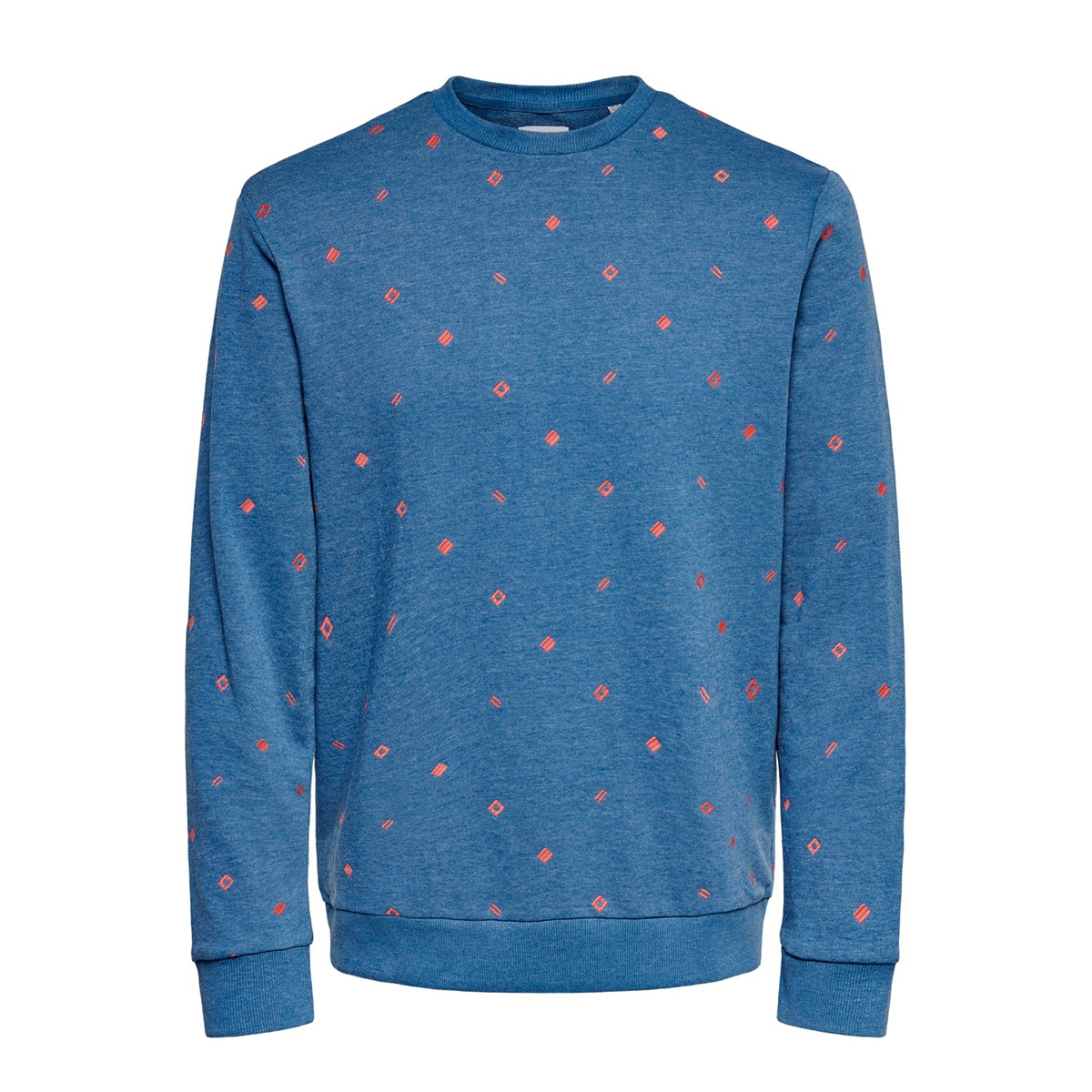 onsbalder reg crewneck aoe sweat 22016859 only & sons sweater dark blue