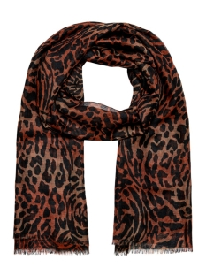 Only Sjaal ONLWILD LIFE CAMO WEAVED SCARF 15201631 Hot Sauce
