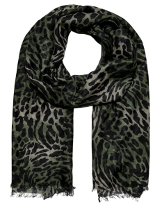 Only Sjaal ONLWILD LIFE CAMO WEAVED SCARF 15201631 Martini Olive