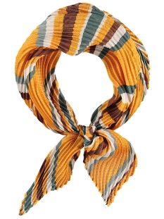 Touch Sjaal PRINTED SCARF 000421 00284 YELLOW