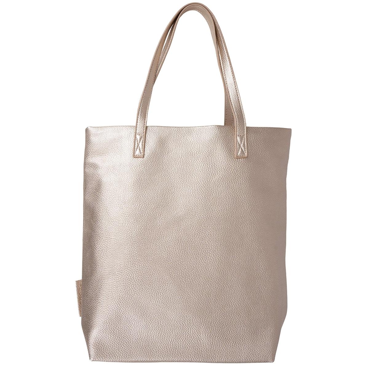 basic shopper zusss tas goud metallic