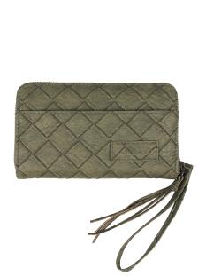 leuke portemonnee 0201 002 4516 00 zusss tas groen gevlochten