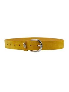 pcnela suede jeans belt 17103211 pieces riem lemon drop
