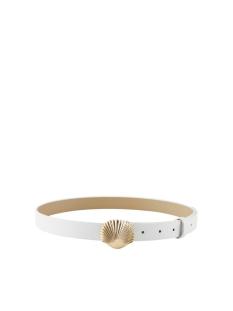 pcmynte jeans belt 17105573 pieces riem bright white