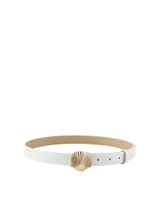 Pieces Riem PCMYNTE JEANS BELT 17105573 Bright White
