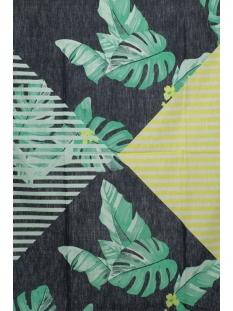 sjaal met bloemenpatroon 28001431 sandwich sjaal 40115