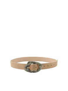 pcmabel suede jeans belt 17105948 pieces riem tannin
