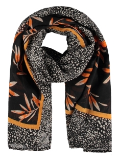 Garcia Sjaal SJAAL MET ALL OVER PRINT S00130 60 Black