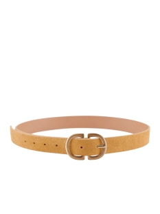 Pieces Riem PCJUVA SUEDE JEANS BELT NOOS 17102275 NATURAL