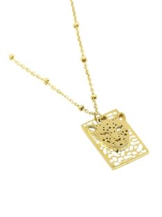 Touch Sieraad LEOPARD NECKLACE JE11655 GOLD