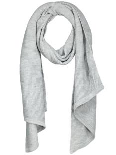 billi scarf noos 17050026 pieces sjaal light grey melange