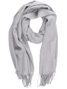 kial long scarf 17057386 pieces sjaal light grey melange