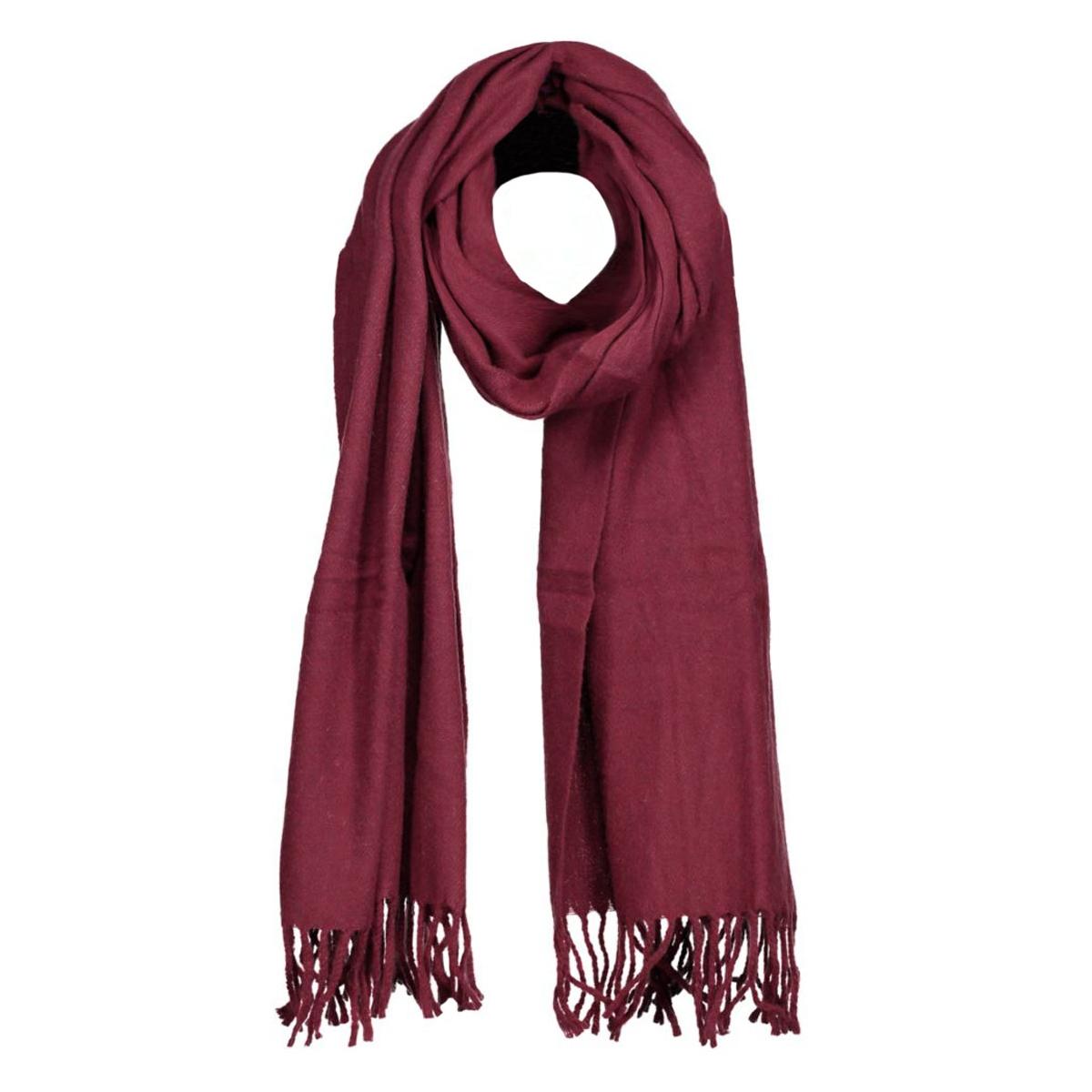 16wi905 10 days sjaal bordeaux