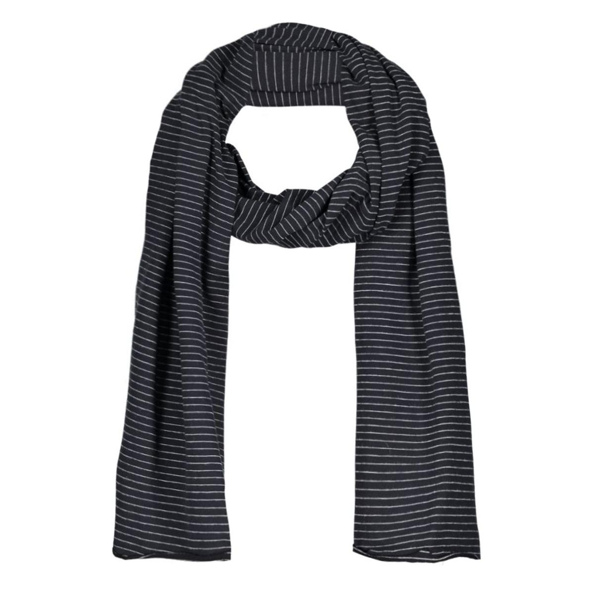 cy1061 comfy copenhagen sjaal black/light grey