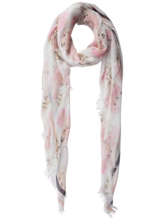 Pieces Sjaal PCMOANA LONG SCARF 17081009 BRIGHT WHITE