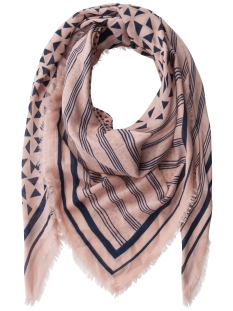 Pieces Sjaal PCMAEVE SQUARE SCARF 17081012 CAMEO ROSE