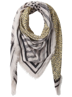 Pieces Sjaal PCMAEVE SQUARE SCARF 17081012 WHITECAP GREY